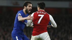 Los equipos de Cesc Fàbregas y Alexis se repartieron los puntos en el Emirates Stadium
