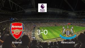 Los tres puntos se quedan en casa: goleada del Arsenal al Newcastle United (3-0)