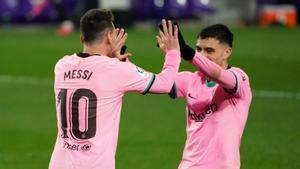 Messi y Pedri se están asociando de lujo en este final de 2020