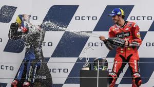 Bagnaia logró el triunfo en San Marino