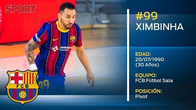 Ximbinha (FC Barcelona Fútbol Sala)