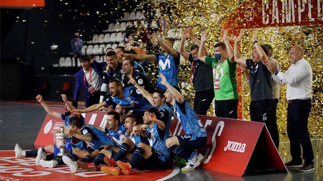 Movistar Inter alzó su segunda Copa del Rey