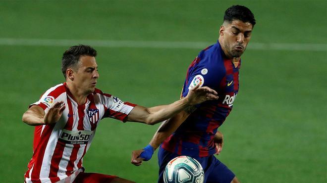 Setién: Luis Suárez tiene que estar en el campo