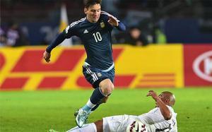 Messi está disputando ahora la Copa América