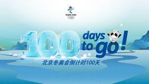 Cien días para los Juegos Olímpicos de Invierno 2022