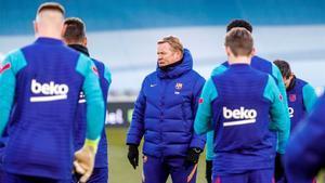 El vestuario del Barça está centrado solo en el tema deportivo