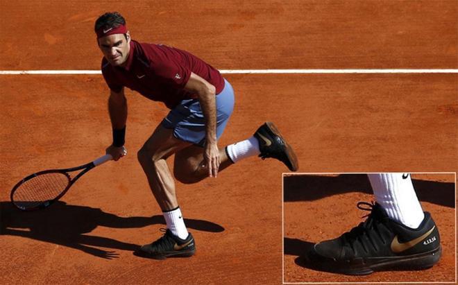 Roger Federer rindió tributo a Kobe Bryant en Montecarlo