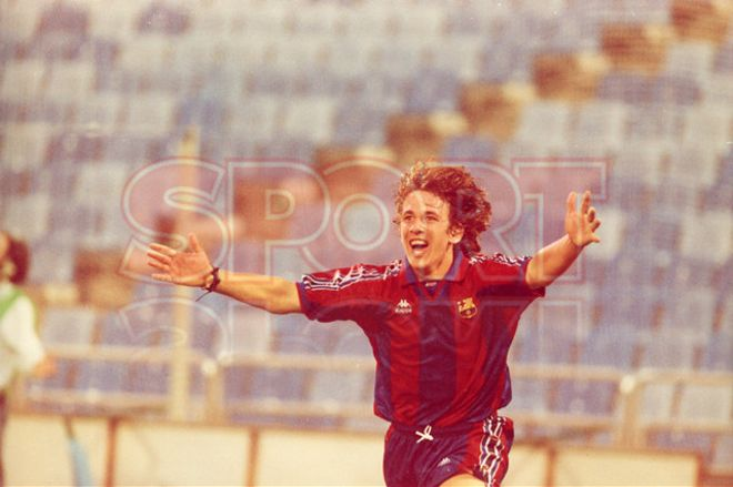 3.Carles Puyol 1995-96