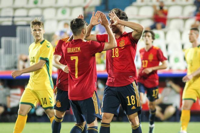 Brahim Díaz y Puado se incorporan a la segunda burbuja de España
