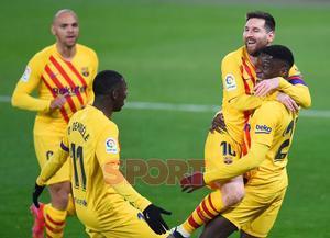 C.A. Osasuna, 0 - F.C.  Barcelona, 2 - LaLiga J26