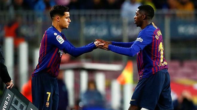 El Camp Nou dictó sentencia: Así fue recibido Coutinho tras su polémico gesto
