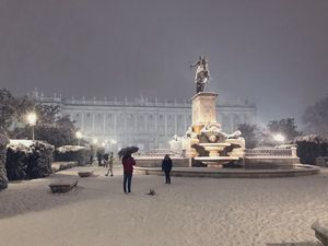 Filomena entierra a Madrid con más de 30 centímetros de nieve