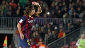 Puyol, en su etapa como jugador