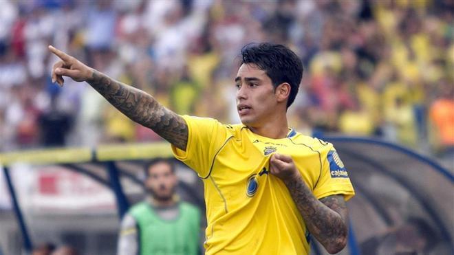Araujo, el héroe del ascenso, ya no cuenta para Las Palmas