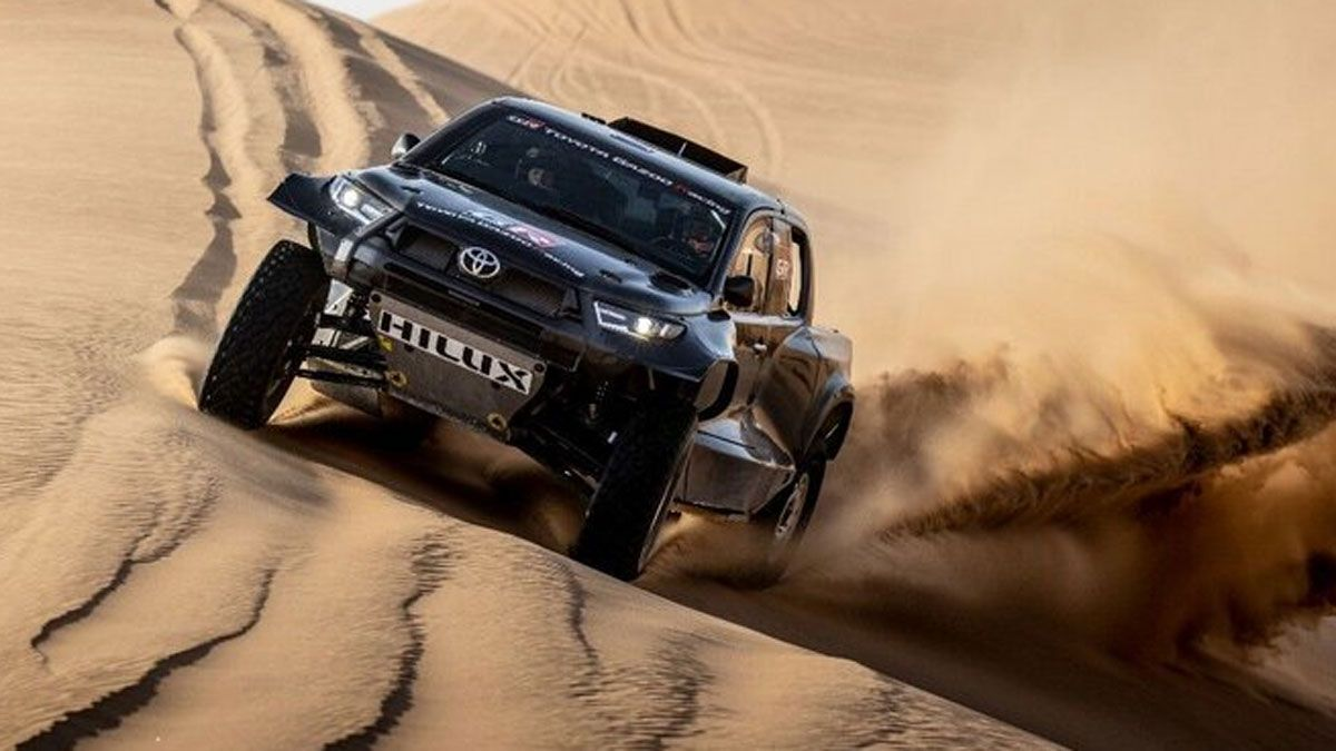 El poderoso Hilux T1 para el próximo Dakar ya es una realidad