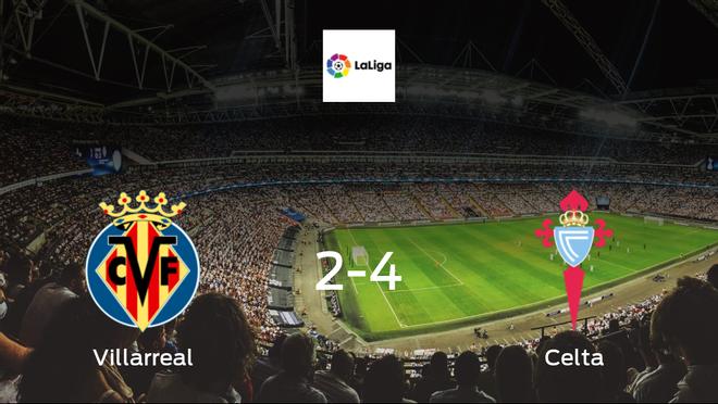 Travelling Celta secure 4-2 win against Villarreal
