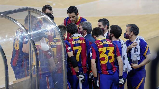 El Barça espera celebrar el campeonato este sábado
