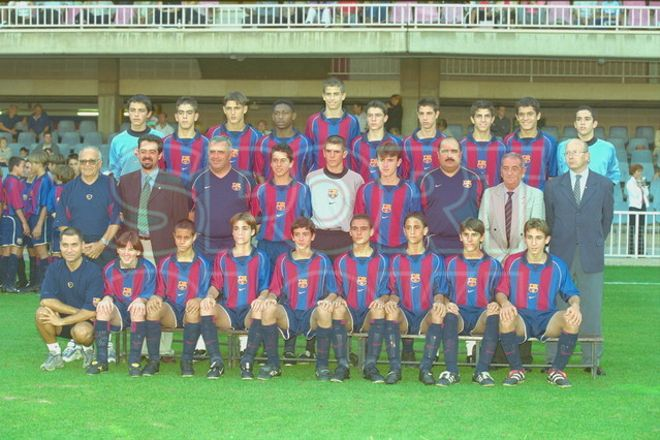 19. Gerard Piqué 2001-2002