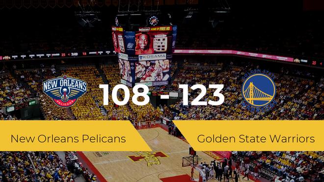 Golden State Warriors se lleva la victoria frente a New Orleans Pelicans por 108-123