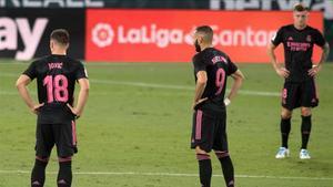 Kroos tuvo que abandonar el partido frente al Betis antes del descanso