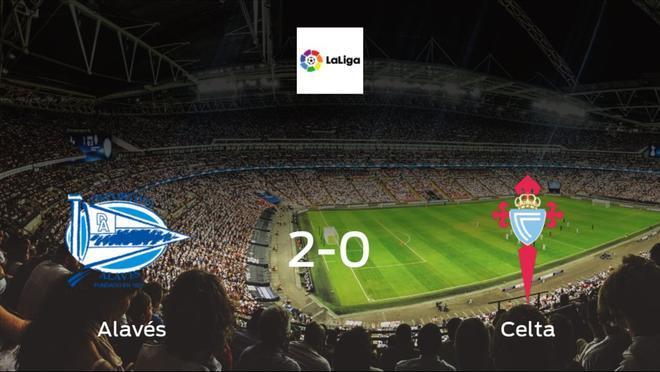 Alavés earned hard-fought win over Celta 2-0 at Estadio de Mendizorroza
