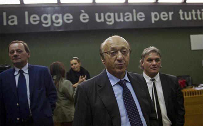 Moggi, el principal responsable del Calciopoli que acabó con la Juventus en la Serie B
