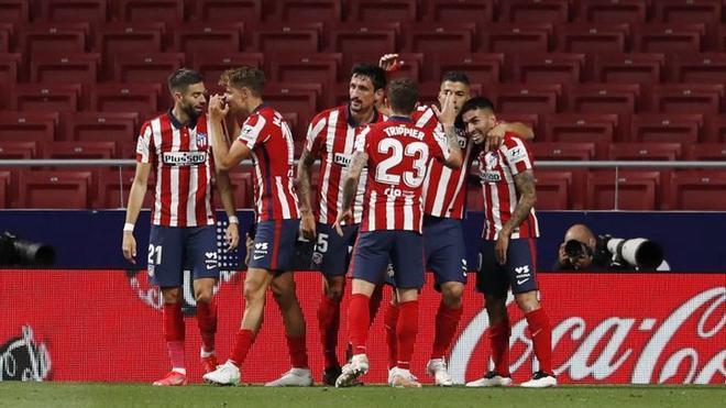 El Atlético de Madrid, con dos jornadas restantes, es el máximo candidato a ganar LaLiga