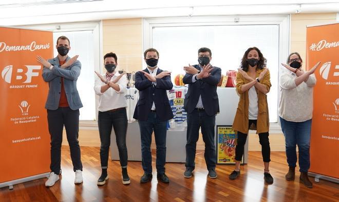 La Federació Catalana presentó la campaña en la sede federativa