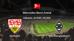 Jornada 16 de la Bundesliga: previa del encuentro Stuttgart - Borussia Mönchengladbach