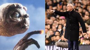 Ranieri comparó, en tono jocoso, las opciones de su Leicester en la Premier con el regreso de ET a la Tierra