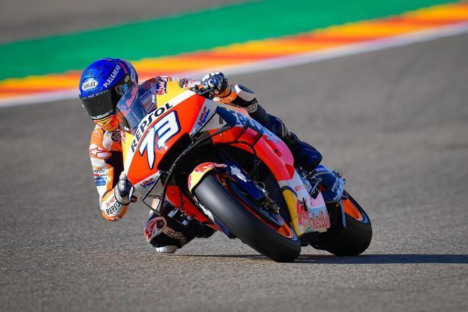 Álex Márquez en Motorland Aragón