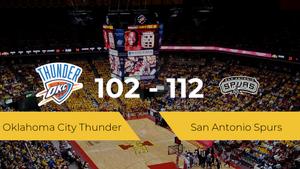 San Antonio Spurs logra la victoria frente a Oklahoma City Thunder por 102-112