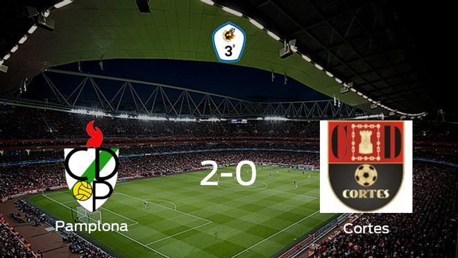 El Pamplona vence 2-0 en casa al Cortes