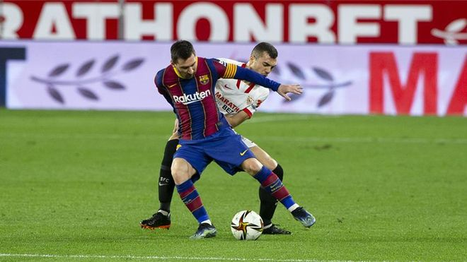 El FC Barcelona sale de Sevilla casi eliminado