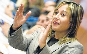 Mónica Mendoza. en una imagen de archivo