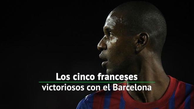 Los cinco franceses con más éxito en Barcelona