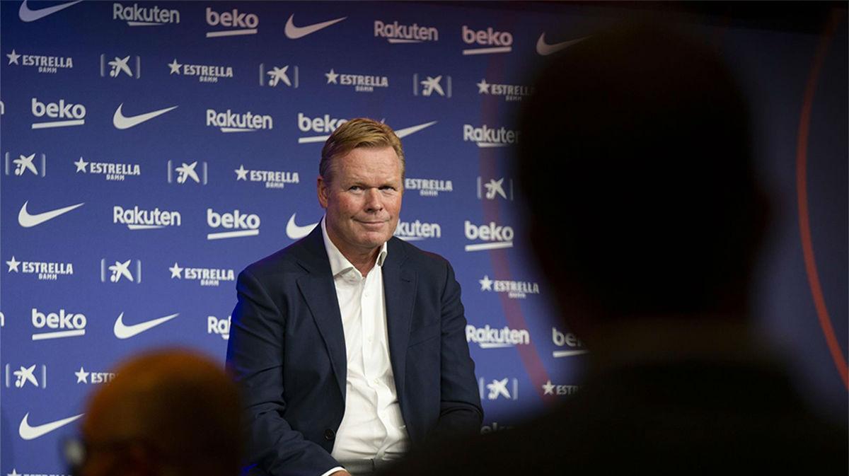 Koeman: A Messi le queda un año de contrato