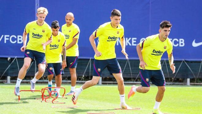 De Jong y Junior Firpo aceleran en su recuperación