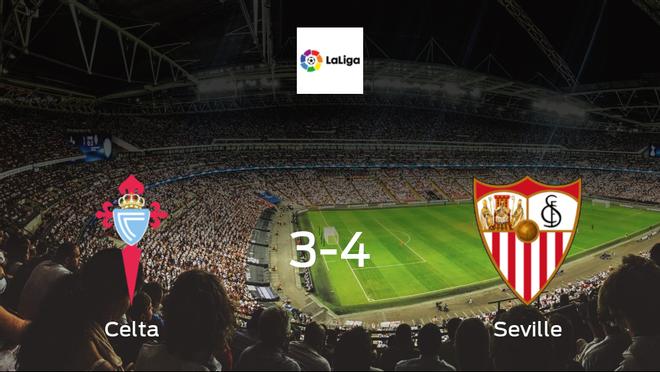 Seville squeeze past Celta Vigo in 4-3 victory at the Estadio Municipal de Balaidos