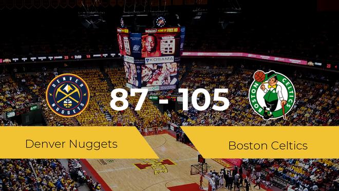 Victoria de Boston Celtics ante Denver Nuggets por 87-105