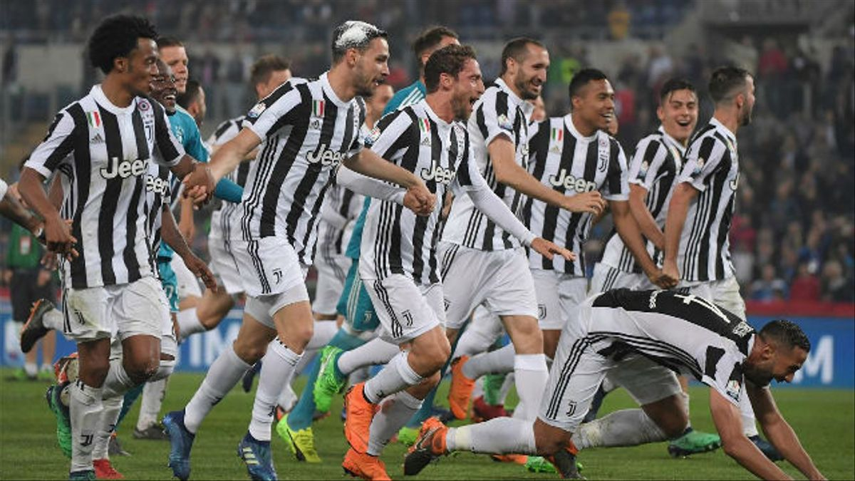 La Juventus batió sin problemas al Milan en la Coppa Italia