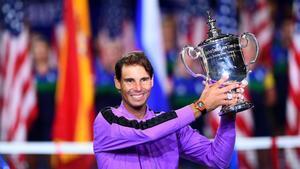 Nadal, con su nuevo título