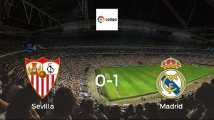 Sevilla succumb to Real Madrid with 0-1 defeat