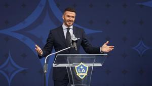 Beckham quiere fichar a Agüero para el Inter Miami