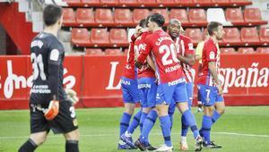 El Sporting de Gijón ha hilvanado cuatro jornadas seguidas sumando puntos