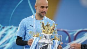 Pep Guardiola ha ganado la Premier esta temporada