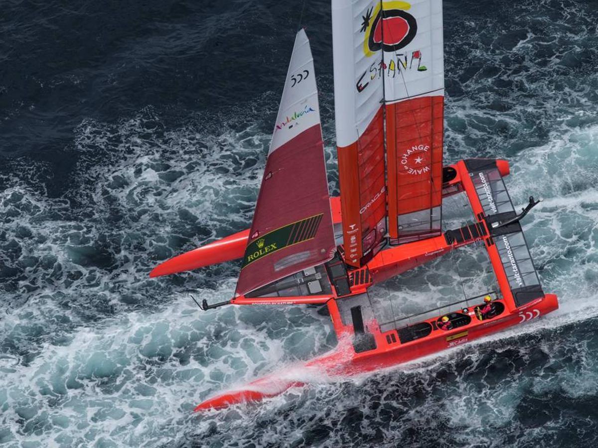 La revolución de la vela llega con el Spain Sail Grand Prix Andalucía - Cádiz