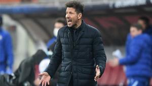 Simeone iguala las 308 victorias de Luis Aragonés