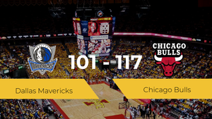 Chicago Bulls consigue la victoria frente a Dallas Mavericks por 101-117