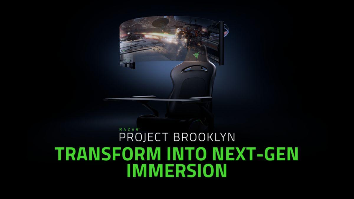 El impresionante concepto gaming de Razer: Proyecto Brooklyn
